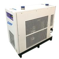 China 10.7 m3 Normal Inlet Refrigerated Compressed Air Dryer Dehydrator , Water Cooling , 380v , R22 , 0.4 ~1.03MPA on sale