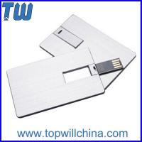 Wholesale Twister Metal Card USB Thumb Drives High Quality Digital Printing from china suppliers