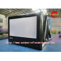 Wholesale Outdoor Inflatable Advertising Screen L3m X H5m Black Movie Theater Screen from china suppliers
