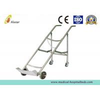 Wholesale Medicine Equipment Stainless Steel Double Feet Trolley For Oxygen Bottle (ALS-A07) from china suppliers