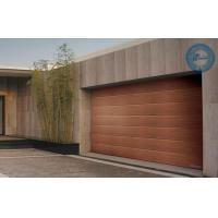 Wholesale Wooden Sleek Sectional Garage Door Stripes Panel Steel Work from china suppliers