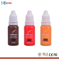 Wholesale England KLAY Eternal Tattoo Ink , Colorful Makeup Micro Tatoo Pigment from china suppliers