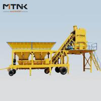 Wholesale latest technology mobile concrete batching plant for sale from china suppliers