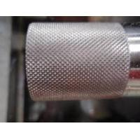 Wholesale Grain Pattern Metal Steel Embossing Roller For engrave pattern from china suppliers