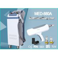 Wholesale Medical Tattoo Removal Q Switch ND Yag Laser Machine 500W 2000 MJ 1064 nm / 532 nm from china suppliers
