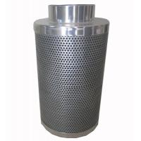Wholesale CTC70 10 inch hydroponic Flange Active Carbon Filter Odor Control scrubber from china suppliers