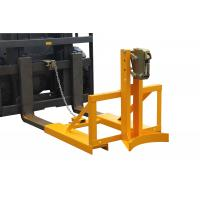 Wholesale drum lifter forklift attachment , vertical drum lifter for machine maintenance from china suppliers
