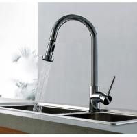 Wholesale Chrome Finish Single Handle Pull out Kitchen Faucet, FC-1802-02 from china suppliers