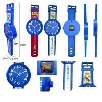 Wholesale OEM fashion design watch shape wall clock from china suppliers