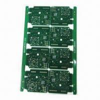 Wholesale 6 Layers PCB with 2.0mm Board Thickness, ENIG Surface Finishing and 0.1mm Minimum SM Dam from china suppliers