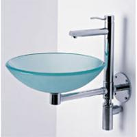 Wholesale oval basin glass wash basin PY-1301 cancel order basin from china suppliers