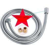 Wholesale Silver Metal Flexible Shower Hose Corrosion Resistance For Shower Head Fittings from china suppliers