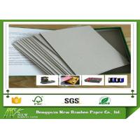 Wholesale Professional Flat Surface Carton Gris 5mm - 0.49mm Grey Paper Board from china suppliers