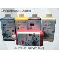 Wholesale Leyenda Odorless Eco Solvent Ink CMYK Vibrant Color Strong Compatibility from china suppliers