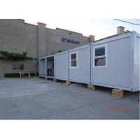 Wholesale flat pack container house economic mobile temporary refugee camp from china suppliers