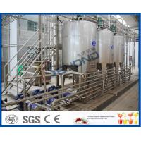 Wholesale SUS304 Stainless Steel Automatic Dairy Processing Plant Milk Processing Equipment High Efficiency from china suppliers