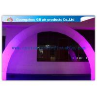 Wholesale Outdoor Arch Shape Inflatable Lighting Decoration Stage Lighting For Wedding / Party from china suppliers