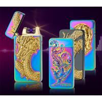 Wholesale dragon  eager usb rechargeable lighter electronic double ARC lighter from china suppliers