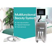 Wholesale 4 in 1 SHR E-light IPL RF Hair Removal Nd Yag Laser Machine for Tattoo / Wrinkle Removal from china suppliers