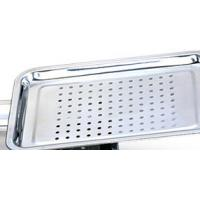 Wholesale High Temperature Resistant Stainless Steel Mesh Tray / Food Punching Tray With Healthly from china suppliers