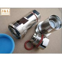 Buy cheap DIN 7/16  female connector for LCF 1/2 cable from wholesalers