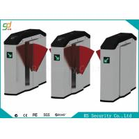 Quality Smart Retractable Flap Barrier Gate Turnstile Security Subway Wing Gate for sale