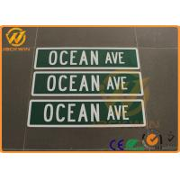 Wholesale Diamond Grade Reflective Aluminum Road Safety Sign For Ocean Ave SGS Approval from china suppliers