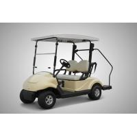 Quality Pure Electric 2 Seater Electrical Golf Carts 4 Wheel With Solar Panel Roof 300w for sale