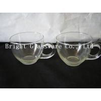 Wholesale glass ice cream cup with handle, Ice Cream Bowls, glass tea set in hotel from china suppliers