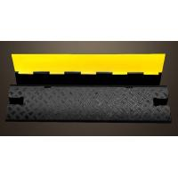 Wholesale Removable Speed Bumps Single Cable Protection , Recycled Rubber Speed Bumps For Driveway from china suppliers