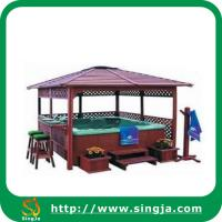 Wholesale Outdoor Wooden Gazebo(WG-01) from china suppliers