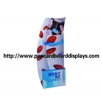 Wholesale 100% recyclable Corrugated pop Cardboard displays with screen printing from china suppliers