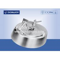 Wholesale SS304&316L;Elliptical Tank Manhole Cover Wheel Handle Outward Opening 490*390mm from china suppliers