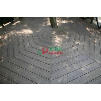Wholesale No Maintain WPC Garden Decking Longlifespan Moisture Resistance 140 * 32mm from china suppliers