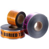Wholesale Customized Orange High - Strength 200m Underground Detectable Warning Tape from china suppliers
