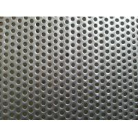 Buy cheap Stainless Steel 304 Perforated Metal Mesh, 0.5mm to 10mm Round Hole from wholesalers