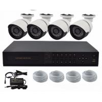 Wholesale 4CH POE CCTV Wireless Security Camera System with NVR , Outdoor Bullet Camera Kits from china suppliers