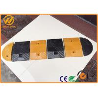 Wholesale Reflective Temporary Rubber Speed Bump , Security Residential Heavy Duty Speed Bumps from china suppliers