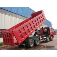 Wholesale HOWO 8*4-336HP-27cbm-Dump tipper truck-one bed from china suppliers