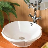 Wholesale round wash shape faucet mixer ceramic square basin bathroom wall mount vanity from china suppliers