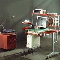 Buy cheap Computer desk with tempered glass from wholesalers