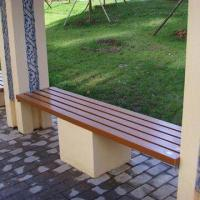 Quality WPC Park Benches, Suitable from -40 to +60°C Temperature, Various Colors are Available for sale
