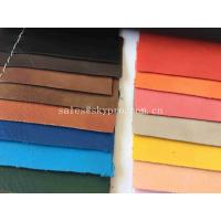 Wholesale Environmental Protection PU Synthetic Leather Embossed PU Imitation Sheep Shrunk Grain from china suppliers