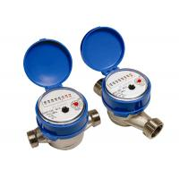 Wholesale Brass Single Jet Water Meter , Super Dry Cold Water Meter DN15mm from china suppliers