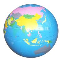 Wholesale Personalized Pvc Inflatable Globe Beach Balls With Earth Map For Outdoor Activities from china suppliers