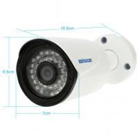 Quality 2.4GHZ/ 5.8GHZ 720P  Wireless  Security Bullet  Camera with Built -in 8GB SD Card for sale