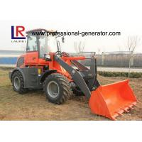 Wholesale CE 2.5 Ton Strong Power Small Building Loader with Pallet Forks , Front Loader from china suppliers