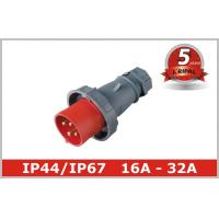Wholesale 3 Phase16A 32A Industrial Plugs And Socket In Pin And Sleeve Connectors from china suppliers