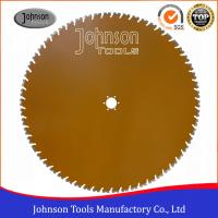 Quality 4.8mm / 5mm Thick Concrete Wall Saw Blades 1000mm Laser Welded Diamond Saw Blades for sale