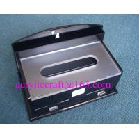 Wholesale Upmarket Rectangle Restaurant Tabletop Perspex Napkin Holder, Acrylic Tissue Box from china suppliers